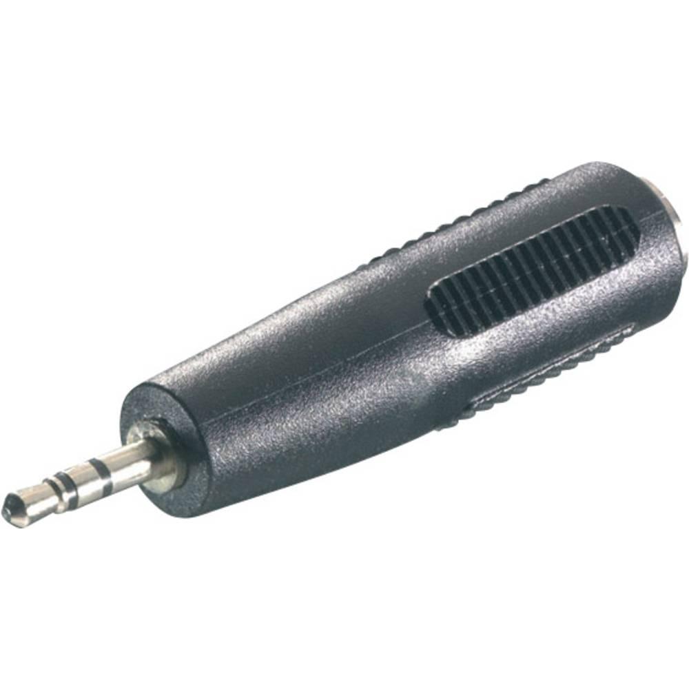 SpeaKa Professional-Audio adapter, 2,5 mm muški JACK konektor/3.5mm ženski JACK konektor