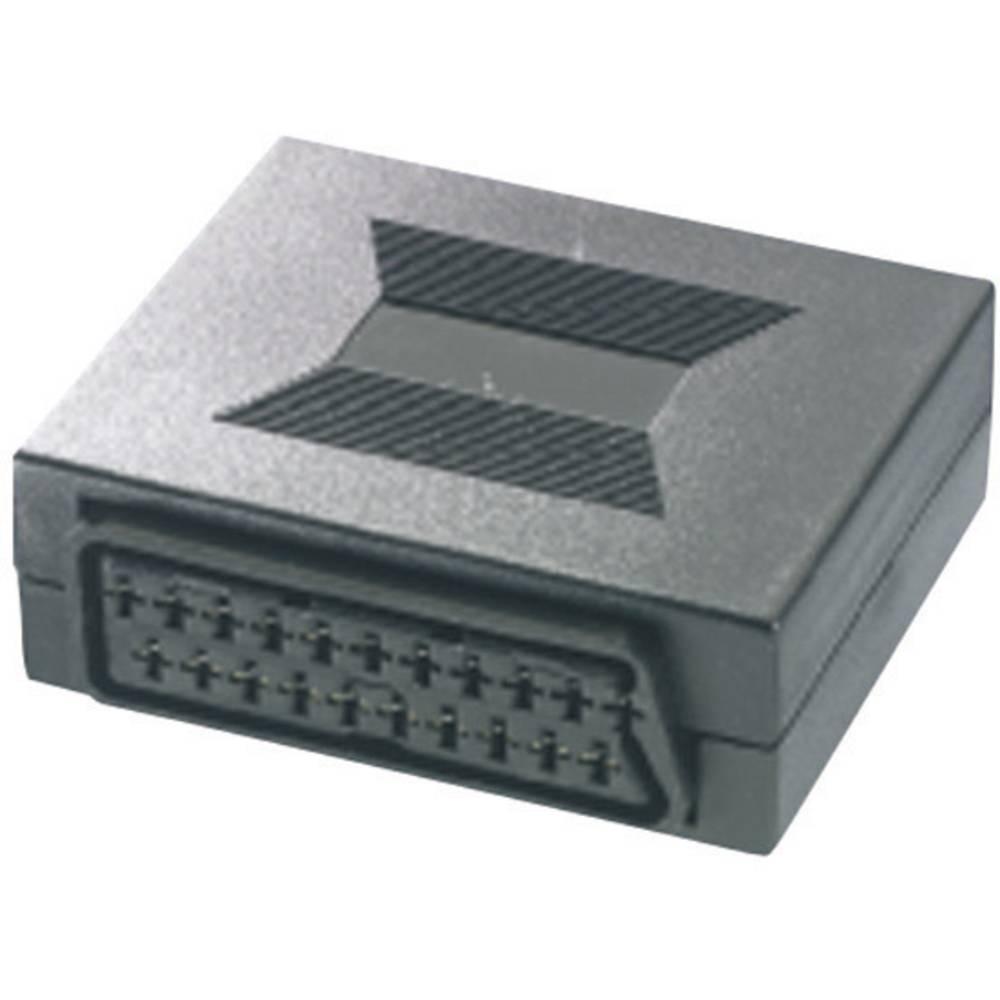 SCART TV, prijemnik (receiver) adapter [1x SCART-utikač 1x SCART-utikač] 0 m crn