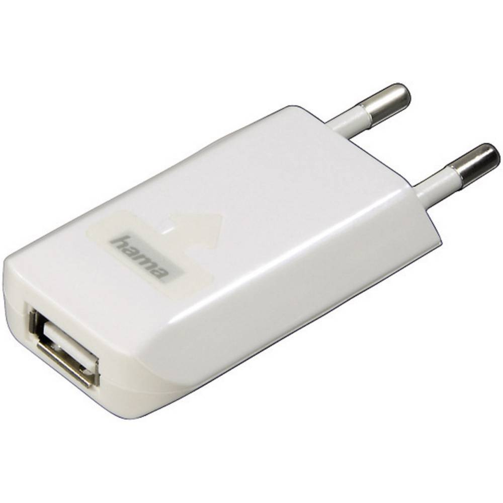 Punjač s USB priključkom 00014123 Hama za iPod/iPhone za utičnicu, izlazna struja (maks.) 800 mA, 1 x USB