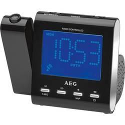 AEG MRC 4122 F radio z uro, črn 400447