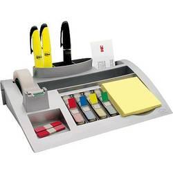 Post-it namizni organizator Desk Organizer C50 srebrna (kovinska) Število predalov: 7 7000062207