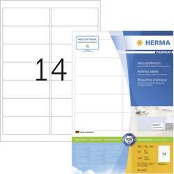Herma 4678 Etikete 99.1 x 38.1 mm Papir Bijela 1400 ST Trajno Naljepnice za adrese Tinta, Laser, Kopija