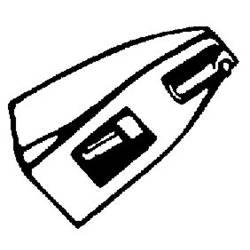HiFi-skivspelarnål DN 165/166 Nadel 5/10