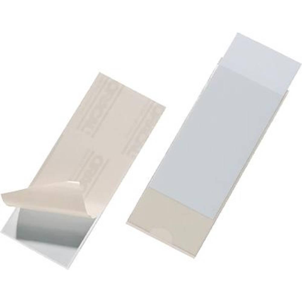 DURABLE Označevalno okence Pocketfix/8075-19 60x150mm brez barve vsebina 10