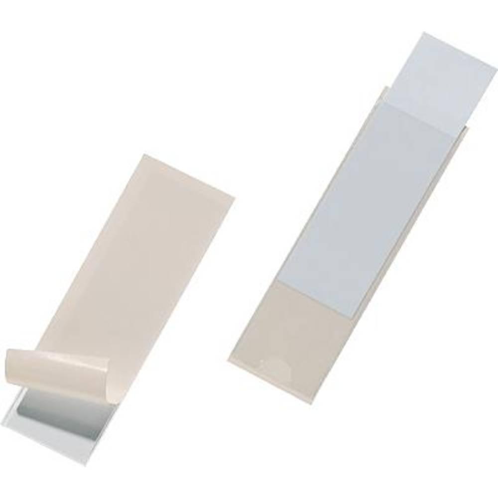 DURABLE Samolepljivi vložni žepi Pocketfix/8073-19 30 x 100 mm 10 zgoraj
