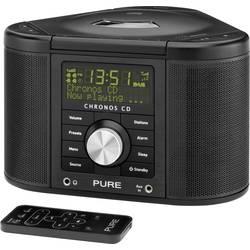 DAB+ Klockradio Pure Chronos CD Serie II Svart