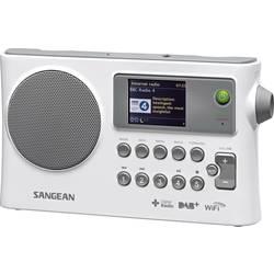 Internet Bärbar radio Sangean WFR-28C DLNA-kompatibel Vit