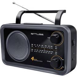 Muse M-05 DS Prijenosni radio, crna/siva M 05 DS