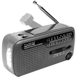 Världsradio Muse MH-07 DS MW, KW, FM Svart