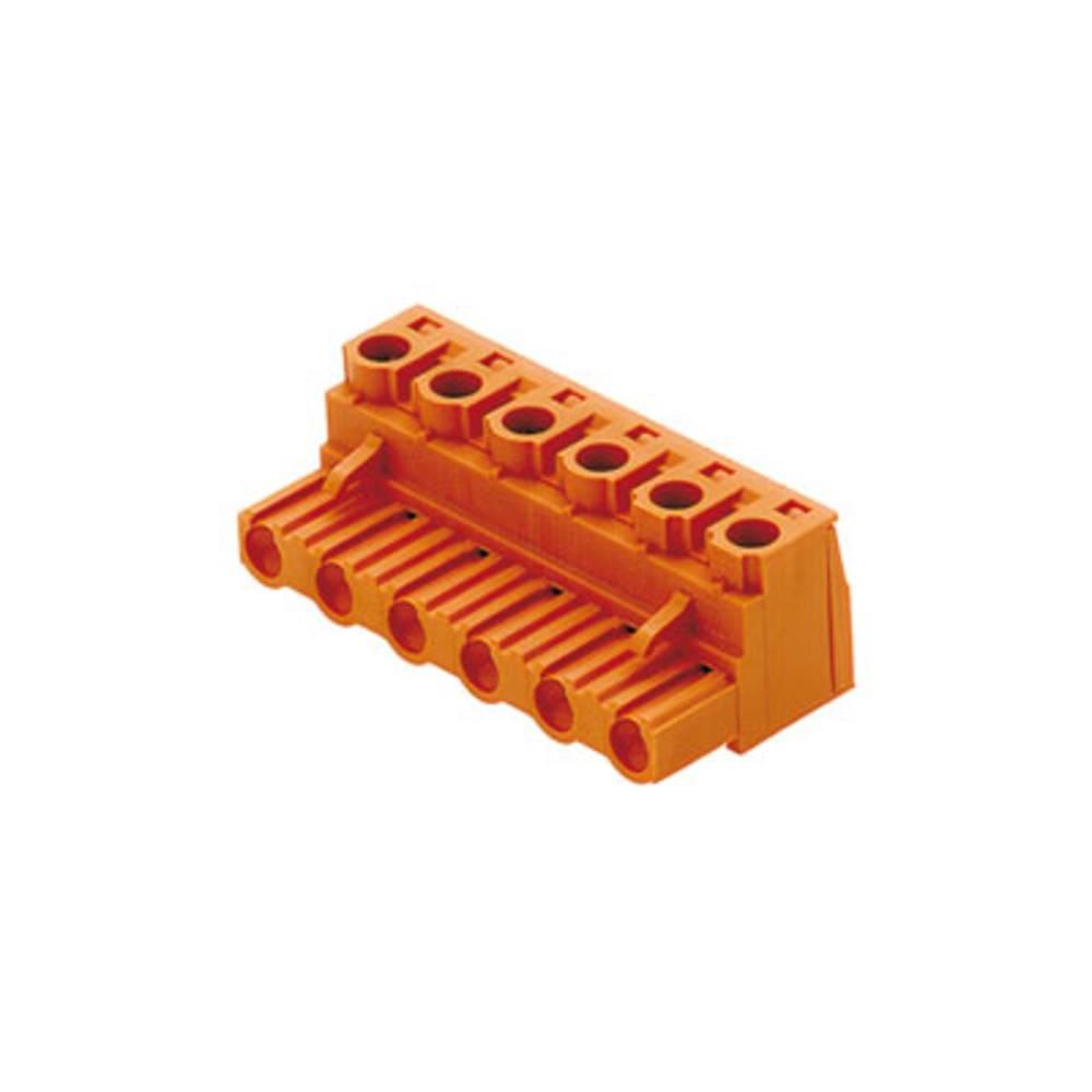 Tilslutningskabinet-kabel BL/SL (value.1360602) Samlet antal poler 9 Weidmüller 1627990000 Rastermål: 7.50 mm 30 stk