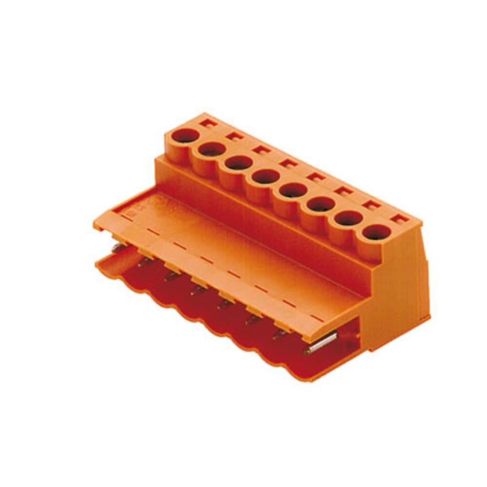 Stiftkabinet-kabel BL/SL 5.08 (value.1360563) Samlet antal poler 8 Weidmüller 1627150000 Rastermål: 5.08 mm 42 stk