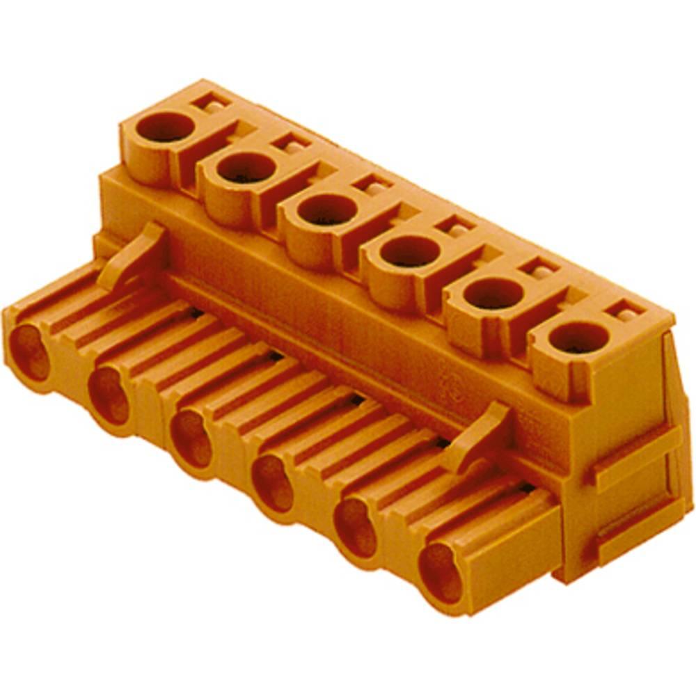 Vtični konektor za tiskana vezja Weidmüller 1628180000 vsebuje: 50 kosov