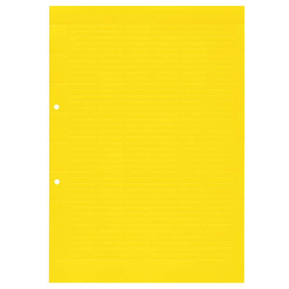 Enhed markører MultiCard ESO 5 DIN A4 GELB BOG. 1631350000 Gul Weidmüller 10 stk
