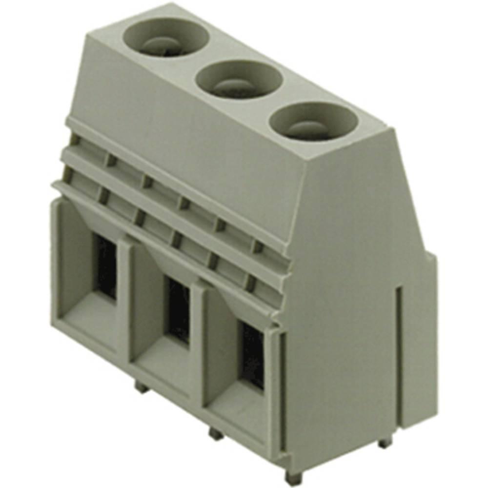 Skrueklemmeblok Weidmüller LU 10.16/03/90 4STI 3.2SN GN BX 16.00 mm² Poltal 3 Grøn 20 stk