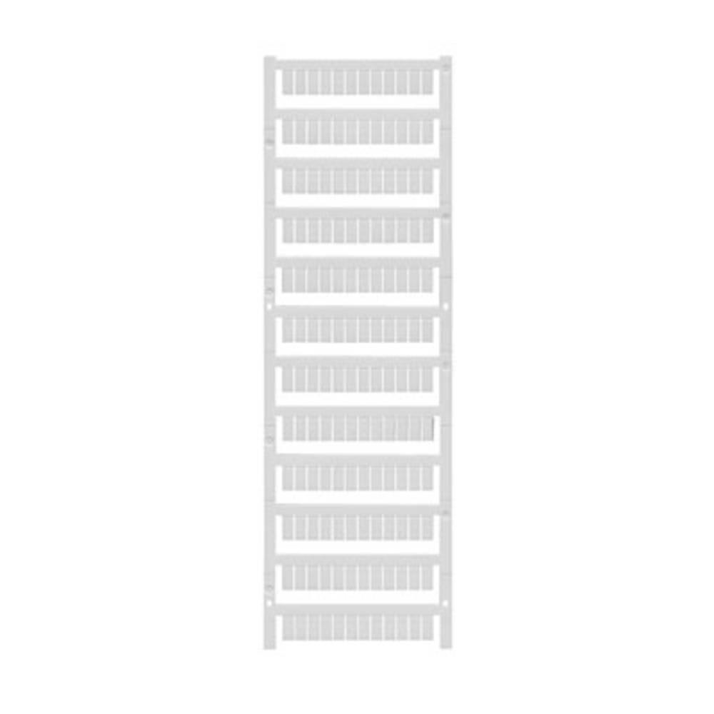 Enhed markører MultiCard WS 10/5 MC NEUTRAL 1635000000 Hvid Weidmüller 720 stk