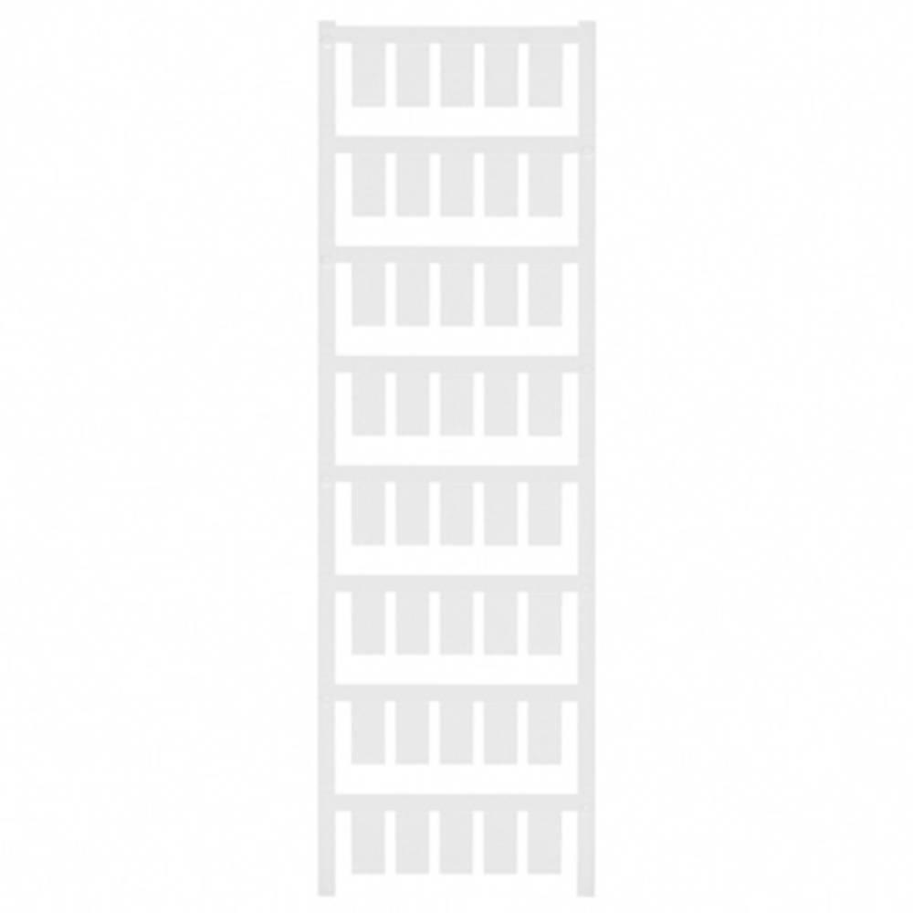 Makering af apparater Weidmüller ESG 9/17 K NEUTRAL/WS 1674760000 200 stk Antal markører 200 Hvid