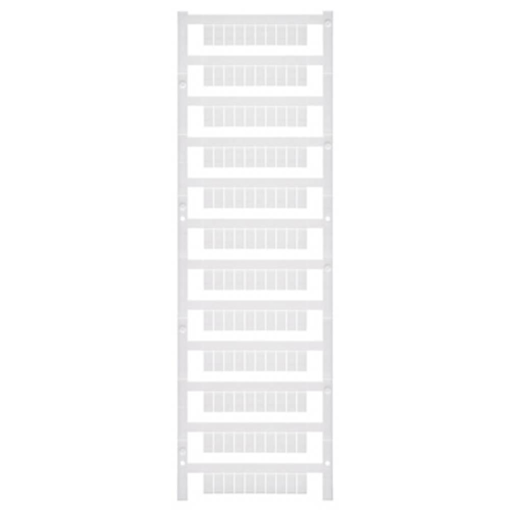 Enhed markører MultiCard MF 10/5 MC NEUTRAL 1677160000 Hvid Weidmüller 600 stk
