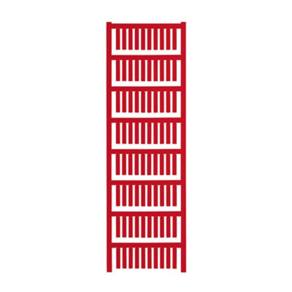 Makering af apparater Weidmüller TM-I 20 NEUTRAL RT 1680411686 400 stk Antal markører 400 Rød