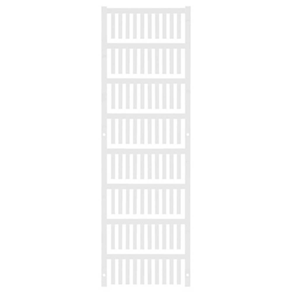 Ledermarkør Weidmüller VT SF 2/21 NEUTRAL WS V0 1689410001 800 stk Antal markører 800 Hvid