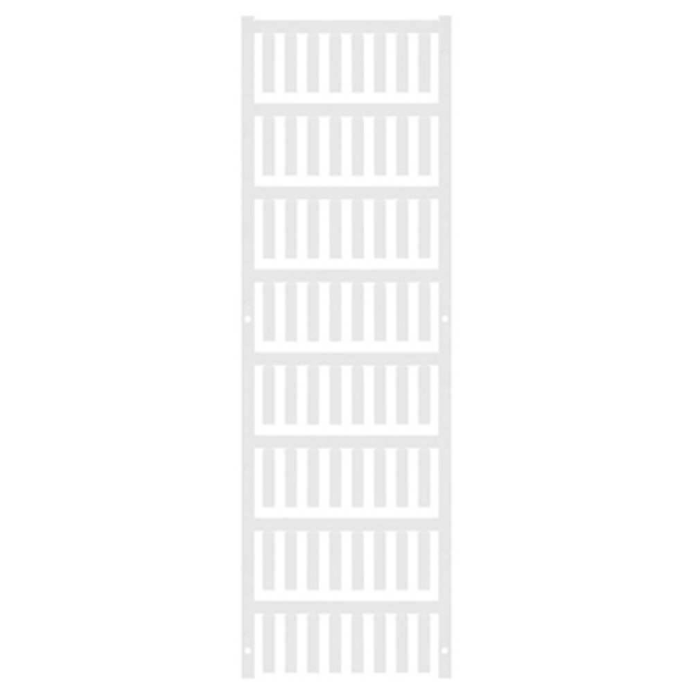 Ledermarkør Weidmüller VT SF 3/21 NEUTRAL WS V0 1689430001 512 stk Antal markører 512 Hvid