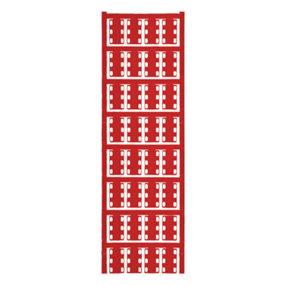 Ledermarkør Weidmüller VT SFX 14/23 NEUTRAL RT V0 1689490003 320 stk Antal markører 320 Rød