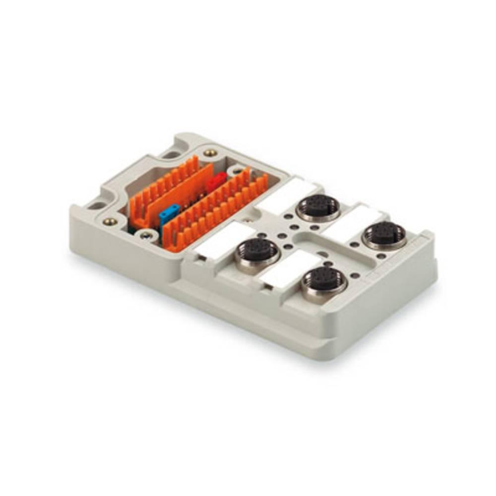 Razdelilnik za pasivne senzorje in aktuatorje SAI-4 M 4P M12 UT Weidmüller vsebuje: 2 kosa