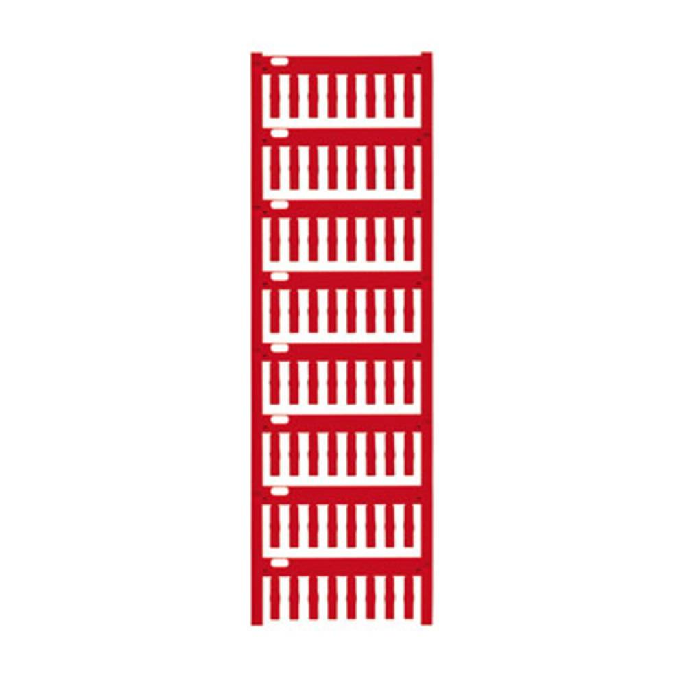 Makering af apparater Weidmüller VT-TM-I 18 NEUTRAL RT 1714101686 640 stk Antal markører 640 Rød
