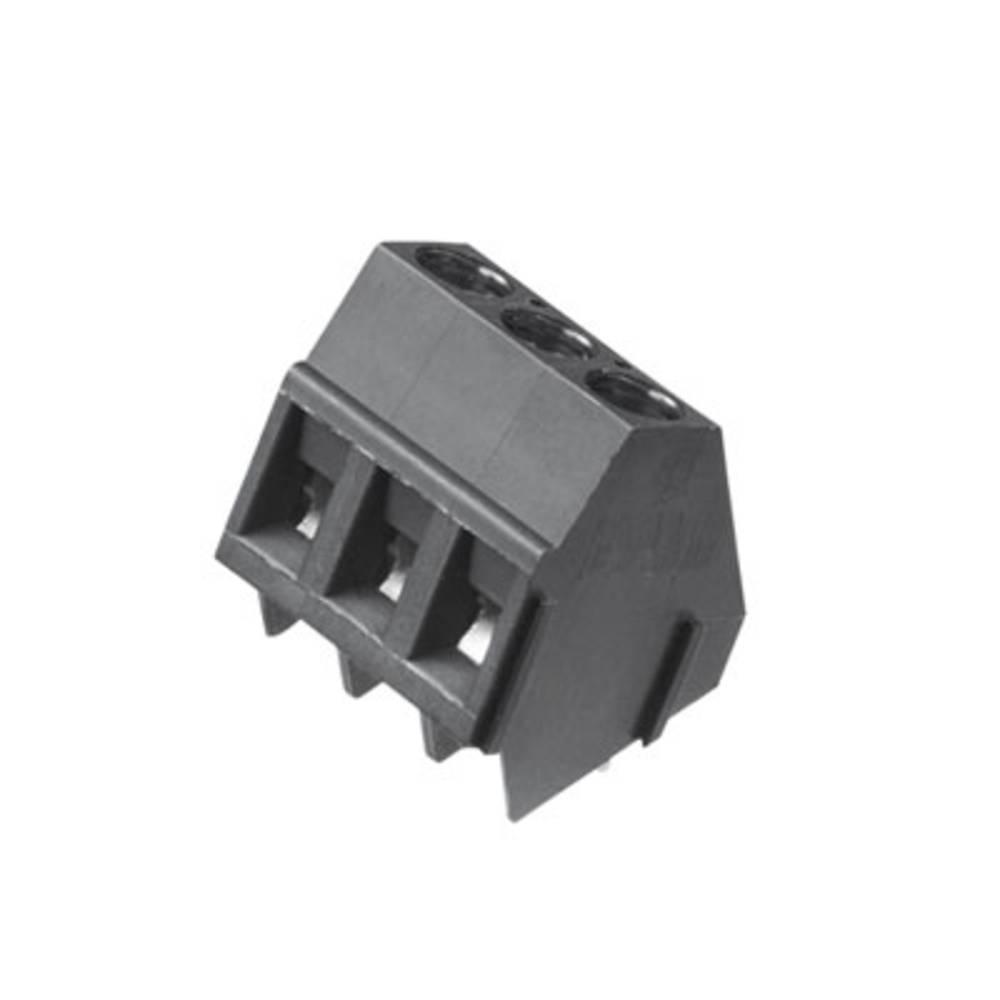 Skrueklemmeblok Weidmüller LM 5.08/03/135 3.5SN BK BX 2.50 mm² Poltal 3 Sort 500 stk