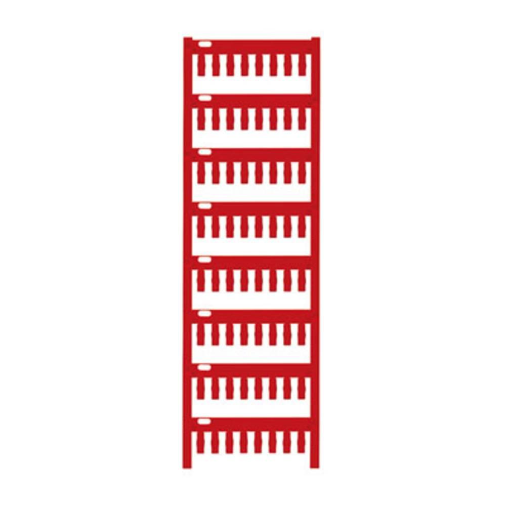 Makering af apparater Weidmüller TM-I 12 NEUTRAL RT 1718411686 320 stk Antal markører 320 Rød