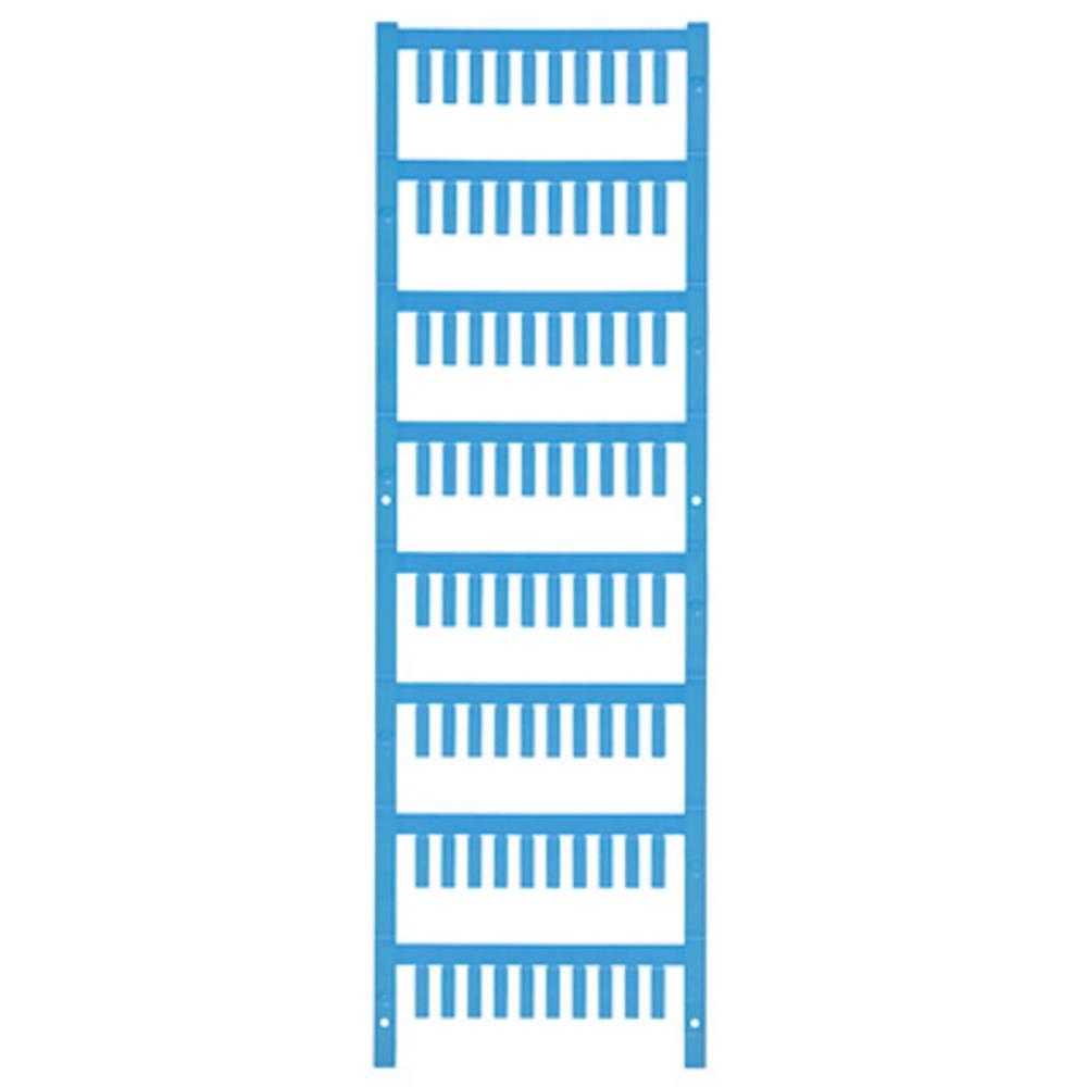 Ledermarkør Weidmüller VT SF 2/12 NEUTRAL BL V0 1718480002 800 stk Antal markører 800 Atolblå