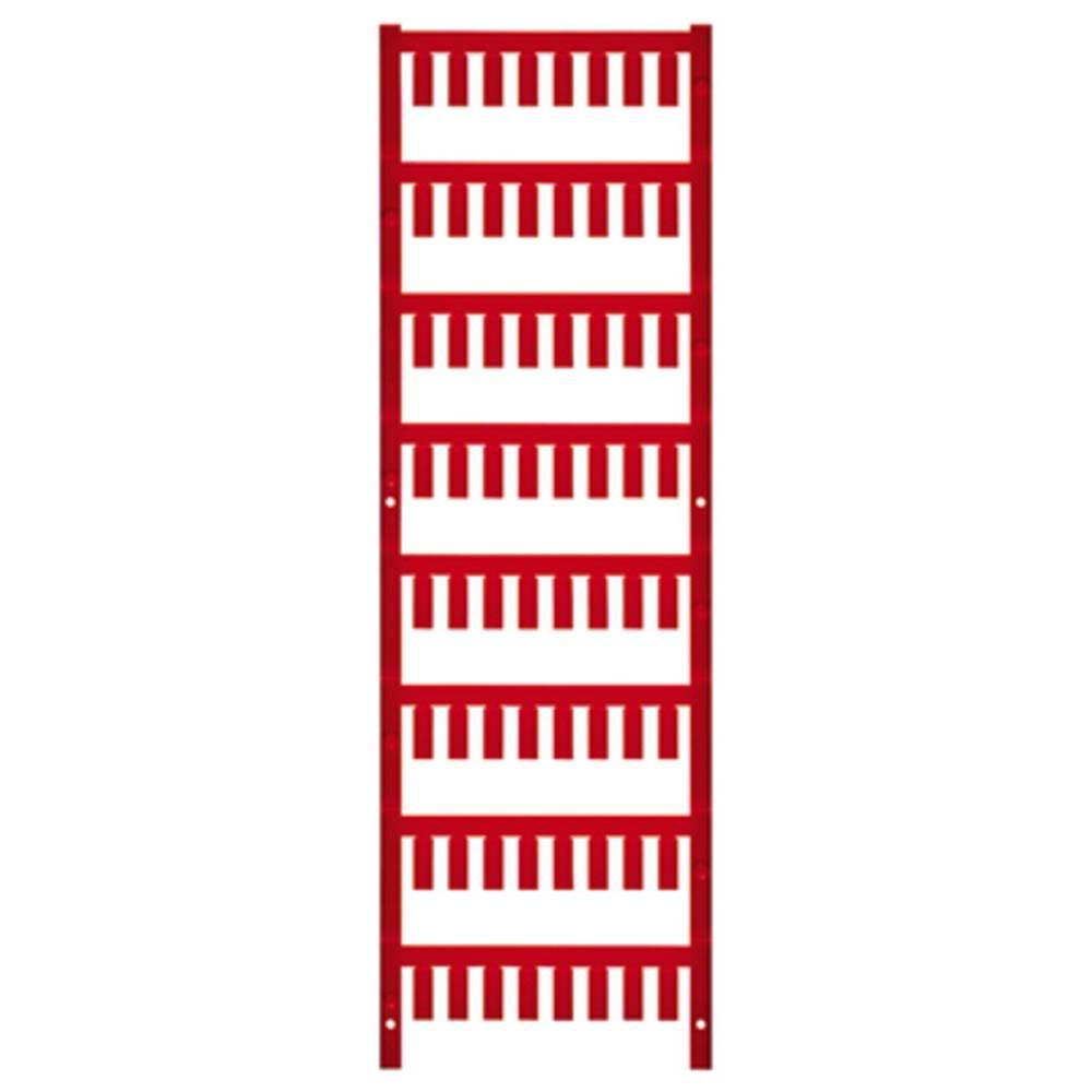 Ledermarkør Weidmüller VT SF 3/12 NEUTRAL RT V0 1718490003 640 stk Antal markører 640 Rød