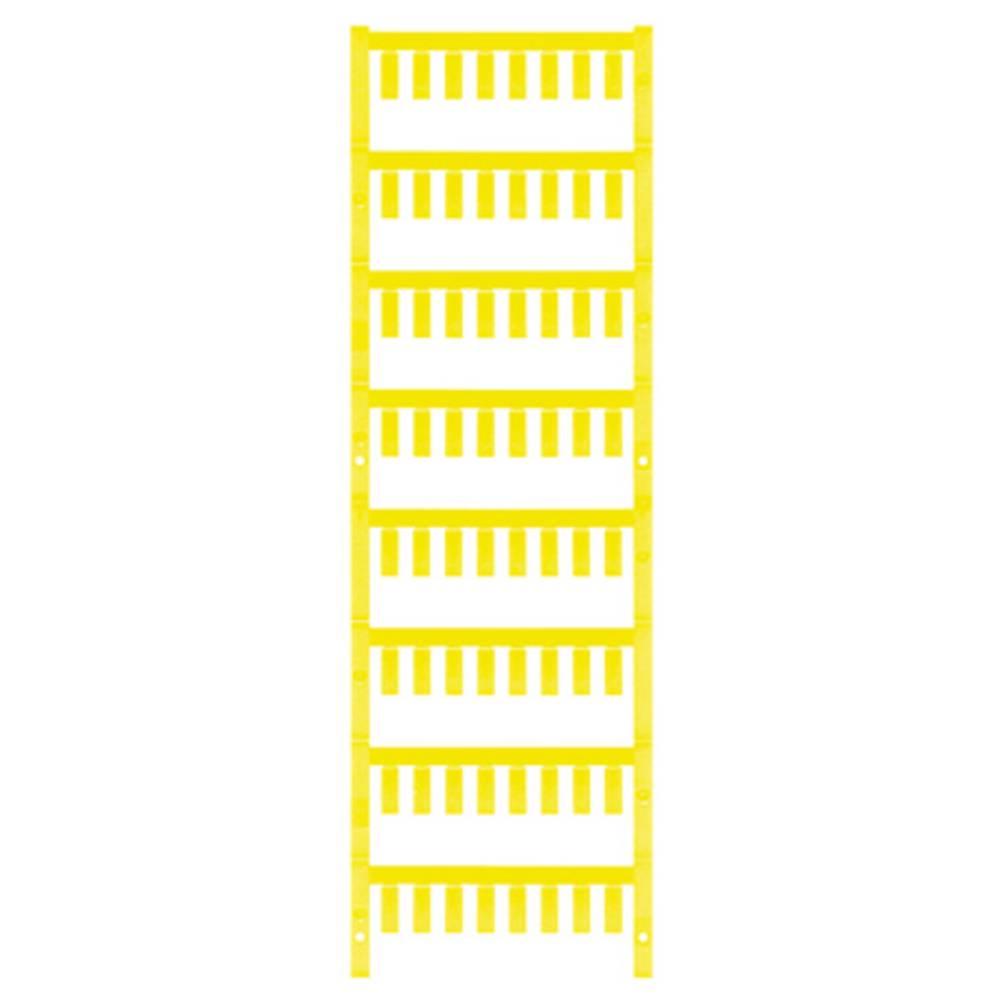 Ledermarkør Weidmüller VT SF 3/12 NEUTRAL GE V0 1718490004 640 stk Antal markører 640 Gul