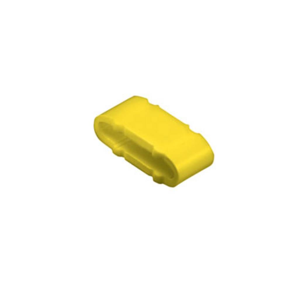 Mærkningsring Weidmüller CLI M 2-4 GE/SW PET. MP 1733651747 Gul 100 stk