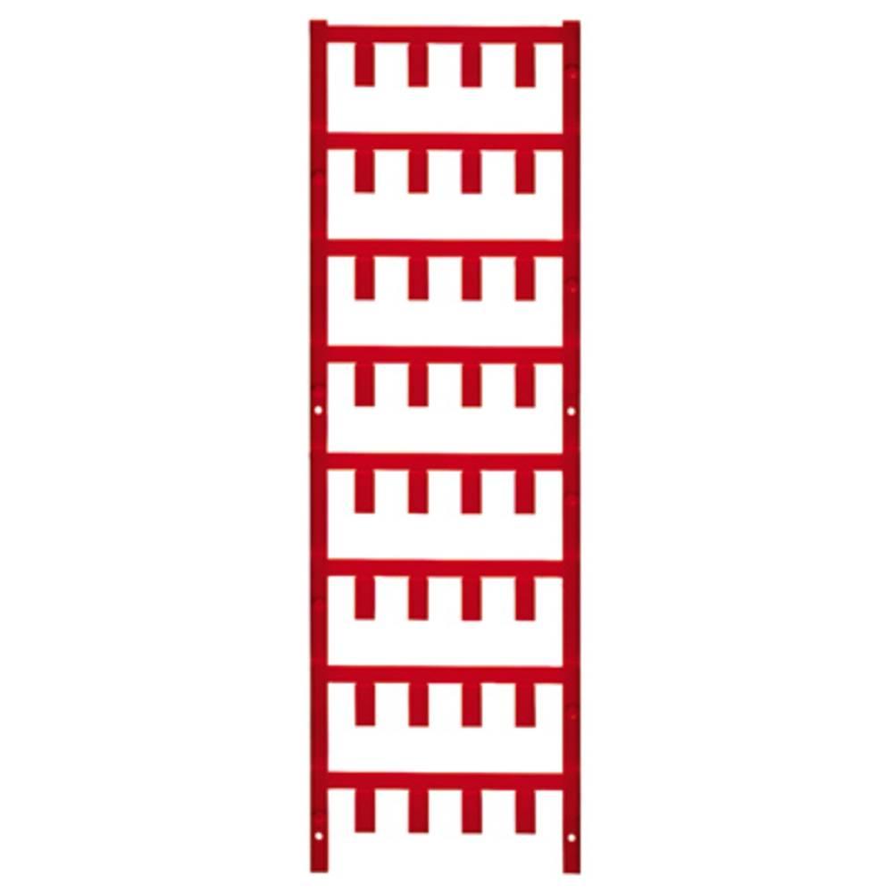 Ledermarkør Weidmüller VT SF 4/12 NEUTRAL RT V0 1746030003 192 stk Antal markører 192 Rød