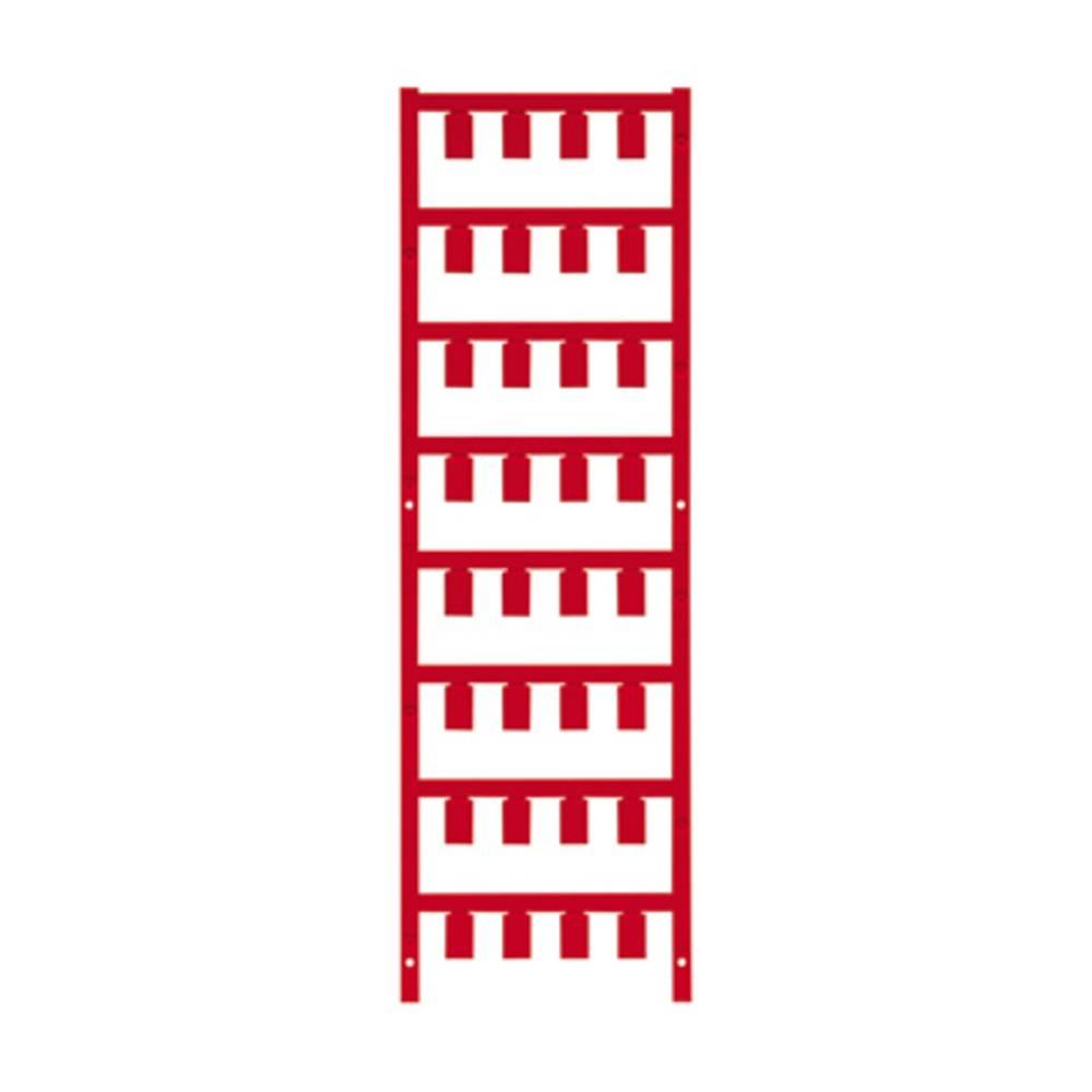 Ledermarkør Weidmüller VT SF 5/12 NEUTRAL RT V0 1746040003 160 stk Antal markører 160 Rød