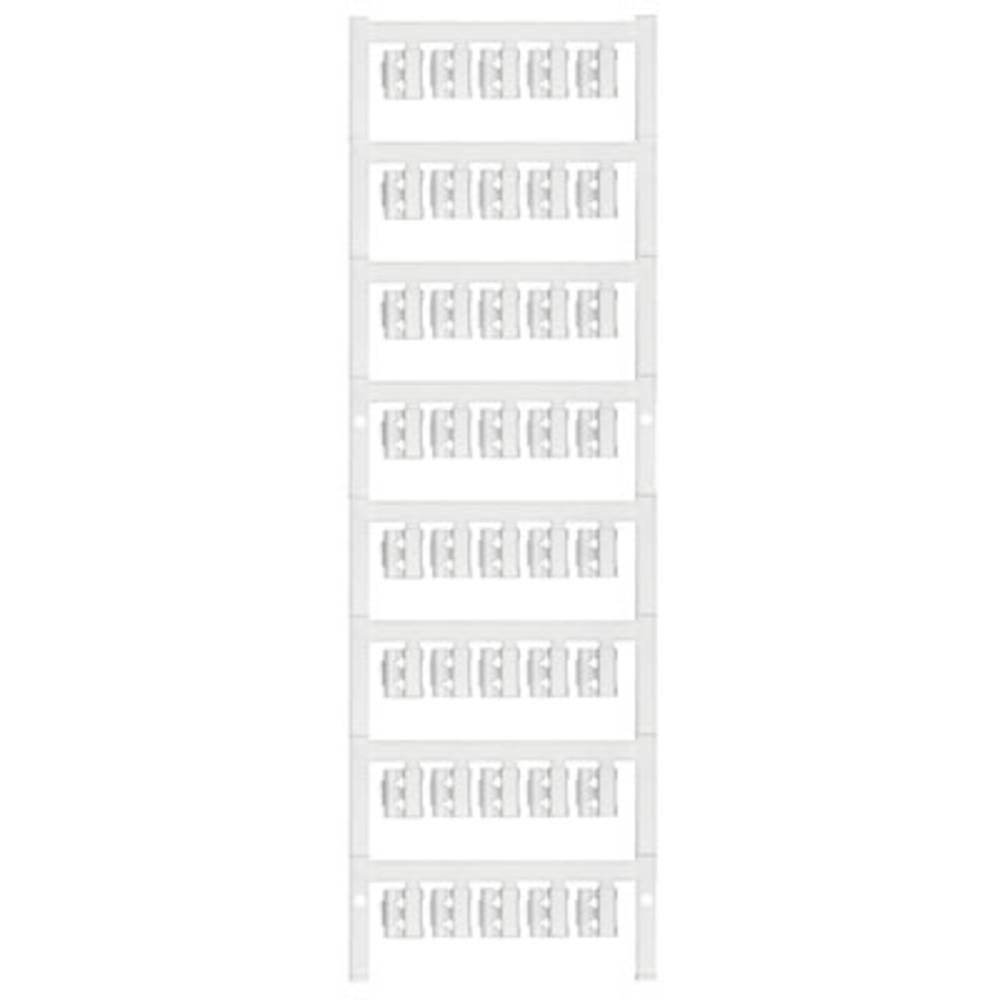 Markeringsophæng Weidmüller SFC 1/12 NEUTRAL WS 1747320001 200 stk Antal markører 200 Hvid
