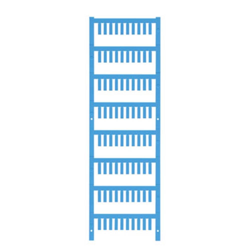 Ledermarkør Weidmüller VT SF 0/12 NEUTRAL BL V0 1752110002 800 stk Antal markører 800 Atolblå