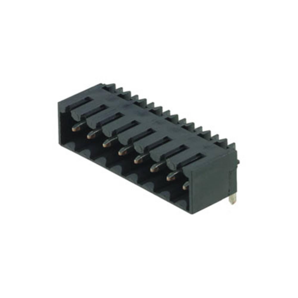 Vtični konektor za tiskana vezja črne barve Weidmüller 1761643001 vsebuje: 36 kosov