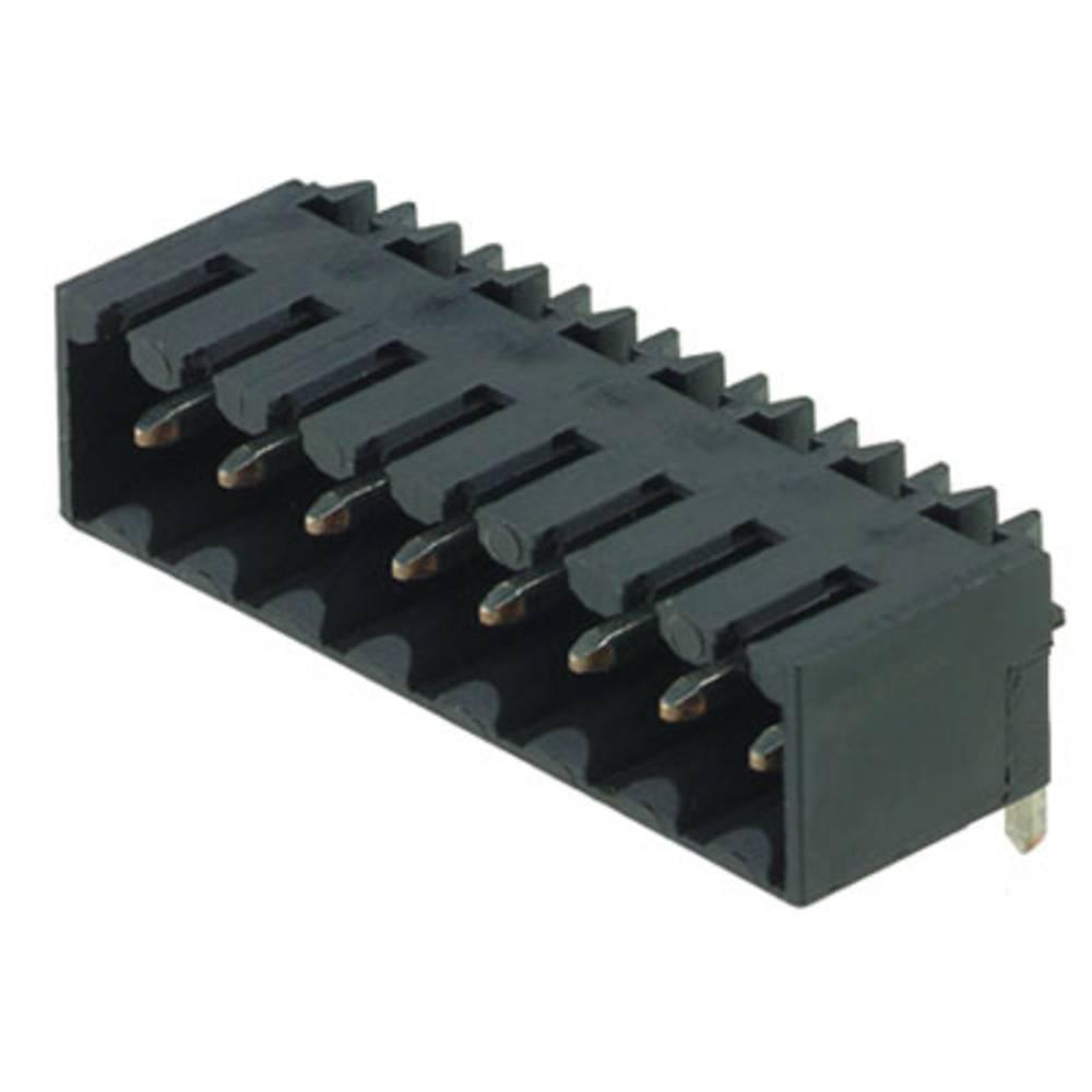 Vtični konektor za tiskana vezja črne barve Weidmüller 1761624001 vsebuje: 385 kosov