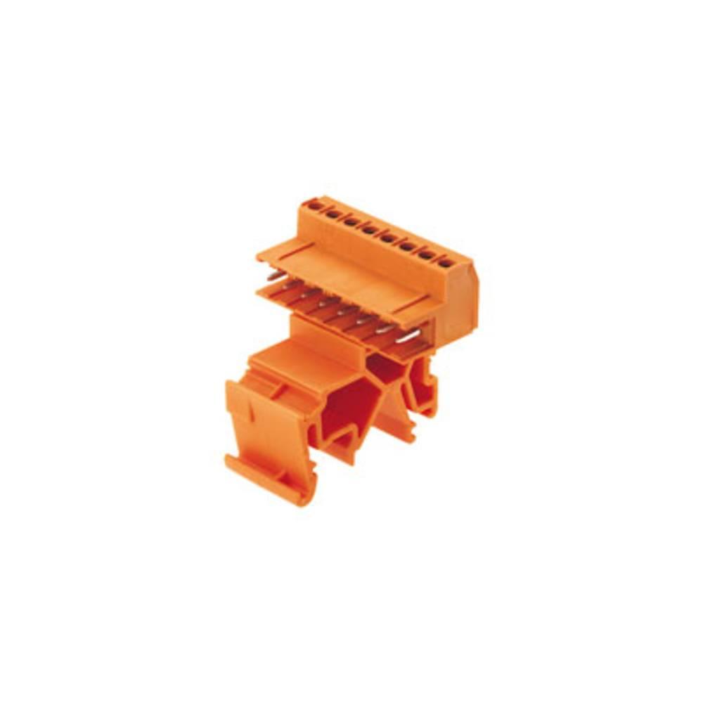 Stiftkabinet-printplade BLA/SLA 5.08 (value.1360542) Samlet antal poler 20 Weidmüller 1766140000 Rastermål: 5.08 mm 9 stk