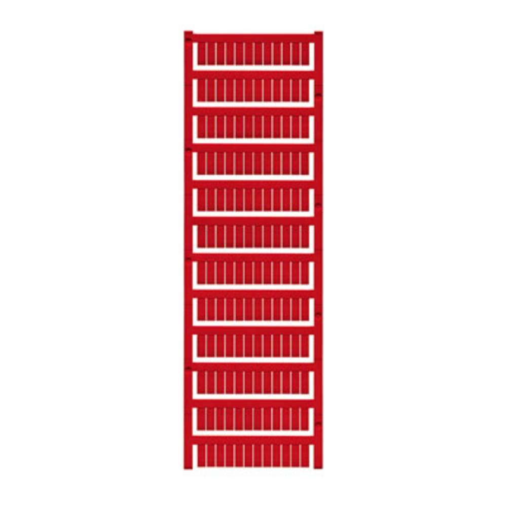 Enhed markører MultiCard WS 12/5 MC NEUTRAL RT 1773541686 Rød Weidmüller 720 stk