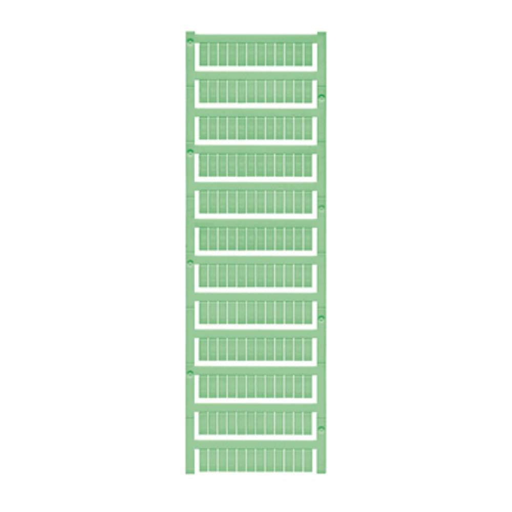 Enhed markører MultiCard WS 12/6 MC NEUTRAL GN 1773551688 Grøn Weidmüller 600 stk