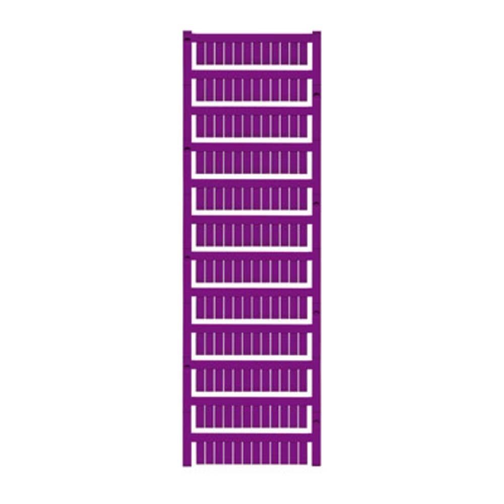 Enhed markører MultiCard WS 12/6 MC NEUTRAL VI 1773551689 Violet Weidmüller 600 stk