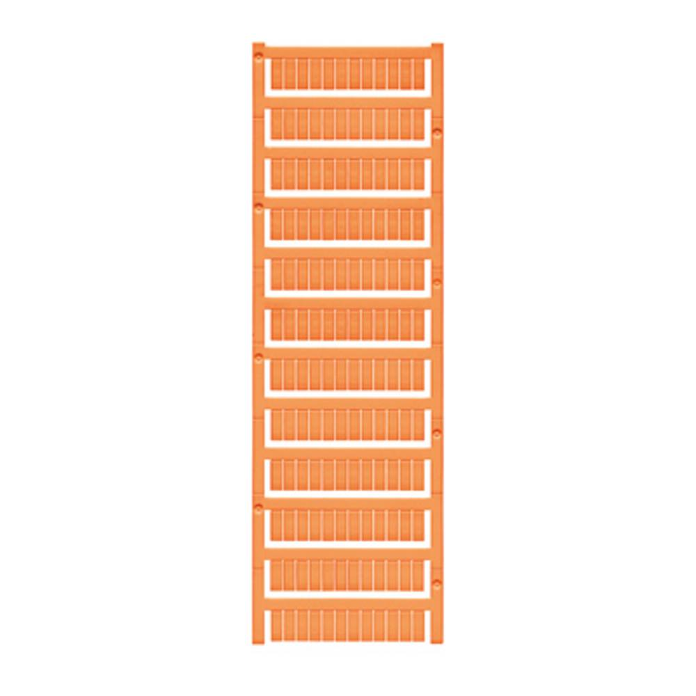 Enhed markører MultiCard WS 12/6 MC NEUTRAL OR 1773551690 Orange Weidmüller 600 stk