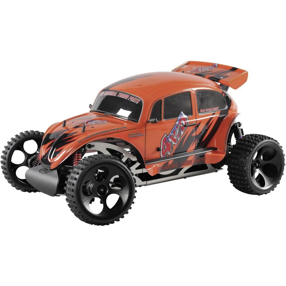 RC model avtomobila FG Modellsport 1:6, bencinski Monstertruck Beetle WB535, 4WD, RtR, 2,4 GHz