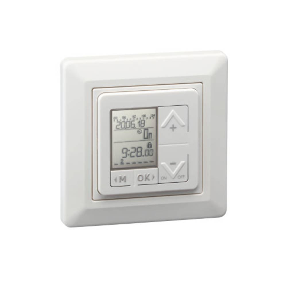 Infällt kopplingsur digital Paladin 173110 easy 400 W Inomhus IP20 Vit
