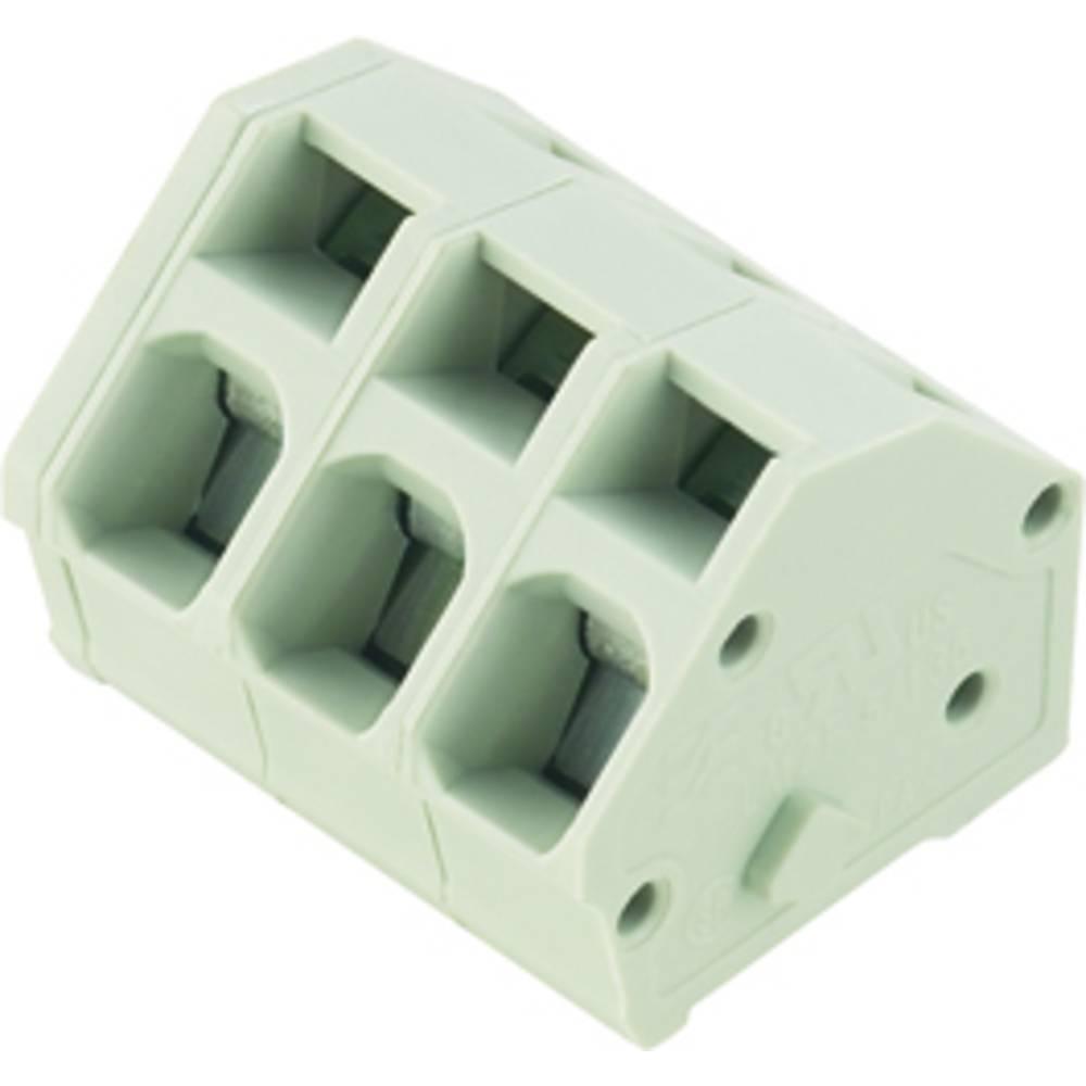 Fjederkraftsklemmeblok Weidmüller LMZF 5/12/135 3.5SW 2.50 mm² Poltal 12 Sort 100 stk