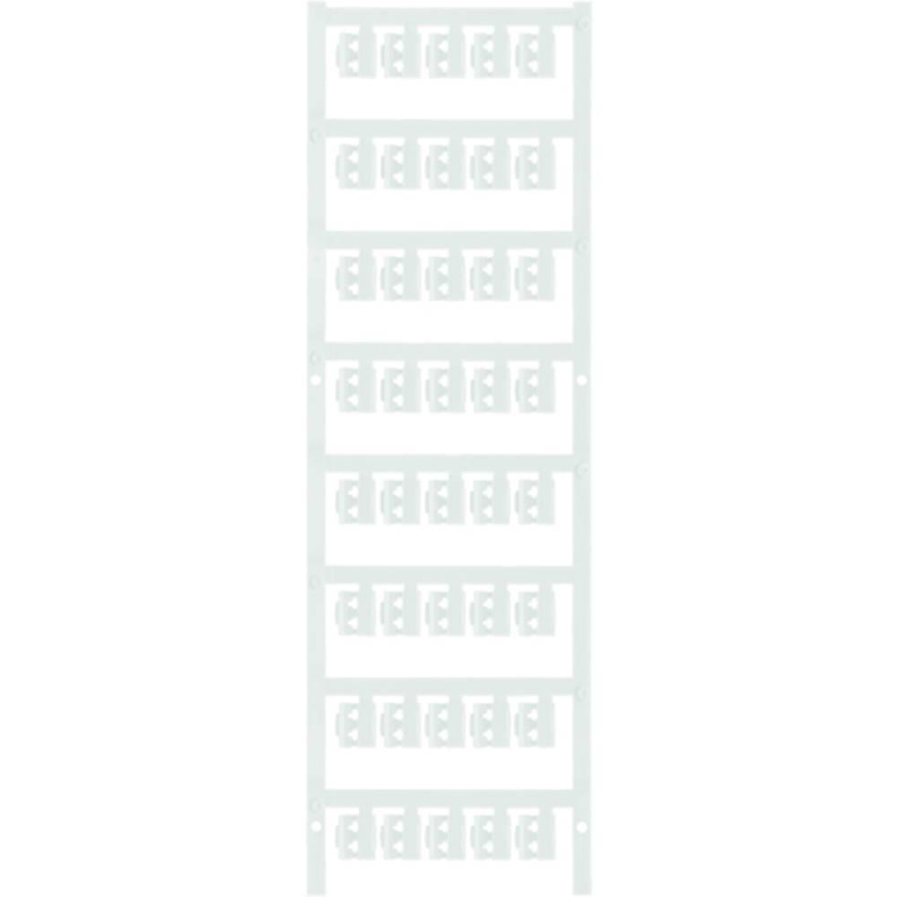 Markeringsophæng Weidmüller SFC 0/12 NEUTRAL WS 1813130000 200 stk Antal markører 200 Hvid