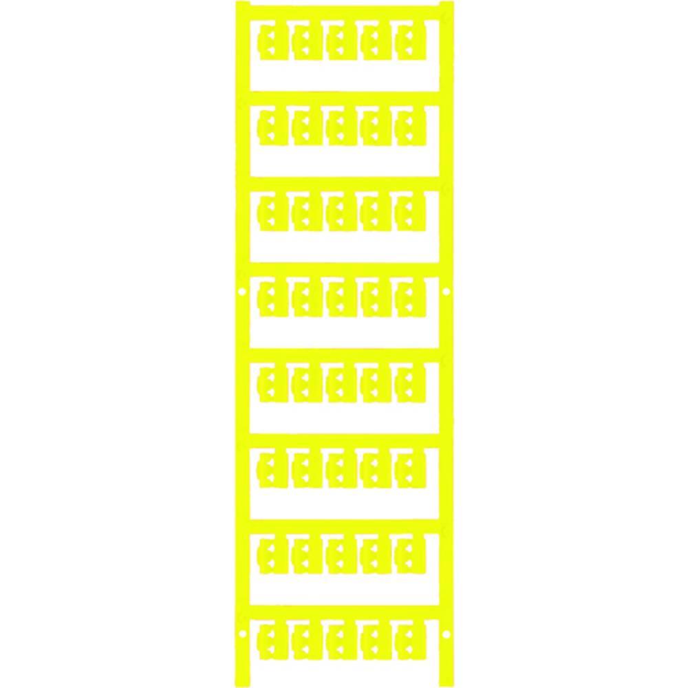Markeringsophæng Weidmüller SFC 0/12 NEUTRAL GE 1813160000 200 stk Antal markører 200 Gul