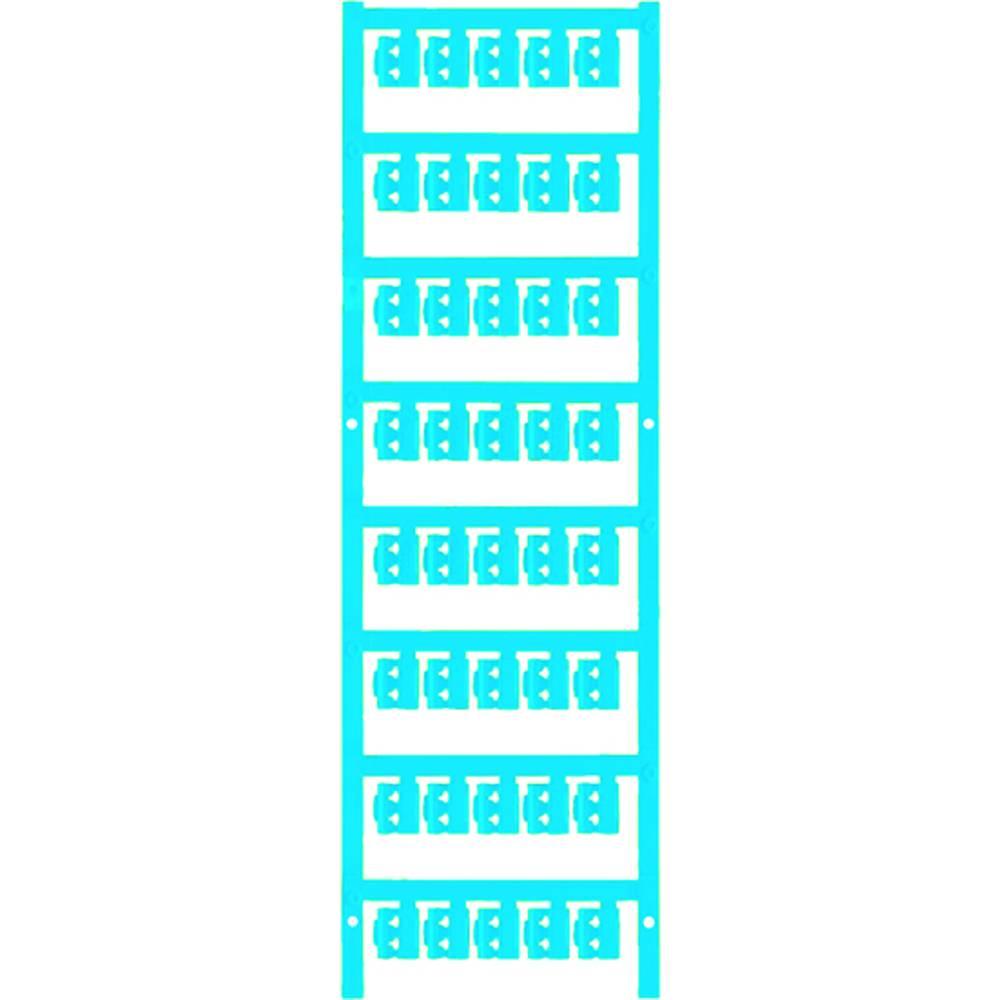 Markeringsophæng Weidmüller SFC 0/12 NEUTRAL BL 1813170000 200 stk Antal markører 200 Atolblå